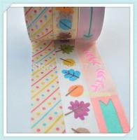 10PCS Korean Style 10M  Washi Tape Paper Scrapbooking Book Decor Adhesive Stick