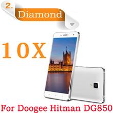 10X Doogee DG850 Diamond Screen Film,Diamond Sparkling LCD Protective Film Doogee Hitman DG850 dg850 Cell Phone Screen Protector