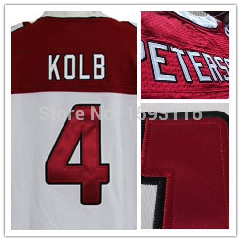 Big Discounts 4 Kevin Kolb Jersey New York Jerseys 2014 Super Bowl XLVIII Jerseys Size 60 XXXXXL Embroidery Authentic Best High(China (Mainland))