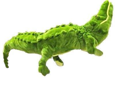 "Giant Huge 43"" /110 cm Alligator Crocodile Green Stuffed Plush Toy / Free Shipping(China (Mainland))"