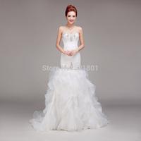 vintage sexy wedding dresses plus size mermaid wedding dress 2015 vestido de noiva casamento robe de mariage wedding gowns