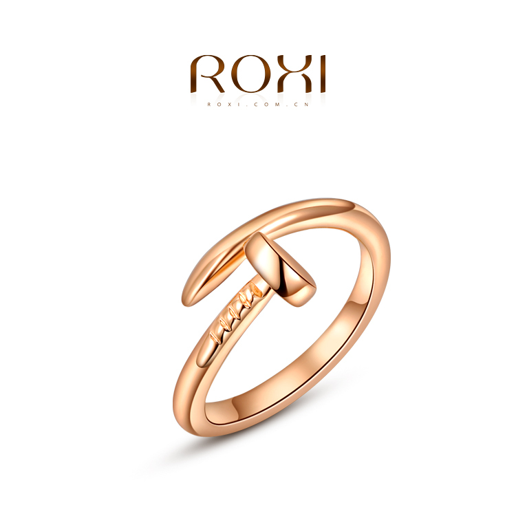 Exquisite engagement ring: Gold engagement rings without stones