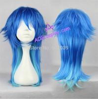 DRAMAtical Murder DMMD cosplay Seragaki Aoba wig cosplay wig mixed color ACGcosplay