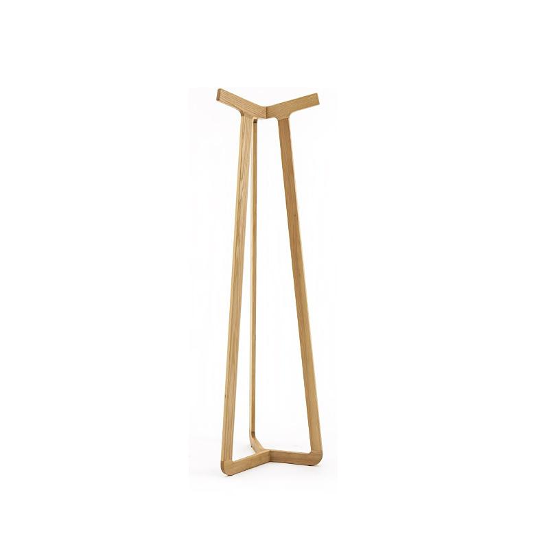 Direct creative real wood floor standing coat rack Scandinavian minimalist modern fashion designer models assemble furniture(China (Mainland))