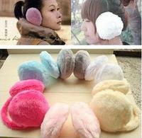 Fashion Elegant Women Ladies Colorful Plush Fluffy Warm Earmuffs Earlap Ear Winter 2014 Hot Sale New