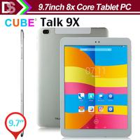Cube Talk 9X  U65gt Real Octa Core MTK8392 Tablet PC 9.7inch Retina  2048x1536 2GB RAM Android 4.4 WCDMA GPS 10000mAh Battery