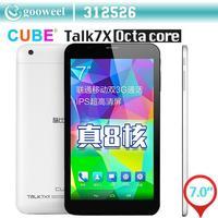 """Original Cube U51GT C8 Talk7x talk 7x Octa core Tablet pc MTK8392 2.0GHz 7"""" IPS 1024x600 android 4.4 GPS Bluetooth 3G FM OTG"""
