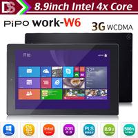 Original Pipo W6 3G win8.1 tablet pc Z3735F quad core 8.9'' PLS 1920X1200 RAM:2GB ROM:32GB Dual camera WCDMA Bluetooth OTG