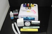 Hot Sale 79 Colors Available CND Shellac UV Gel Acrylic Nail Polish 36W UV Lamp Nail Art Tools Professional Manicure Kit Set