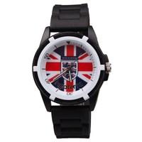 relogio masculino England football fans watches men quartz silicone sport watch male clock fashion casual men wristwatches