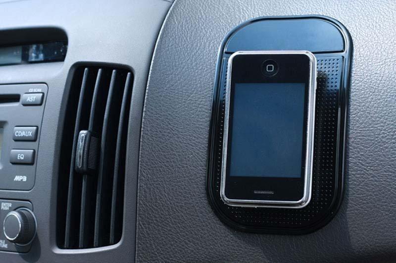 Pu Car Dashboard Non Slip Pad Soft Auto Magic Sticky Antislip Mat For Mobile Phone GPS Anti-Slip Mat(China (Mainland))