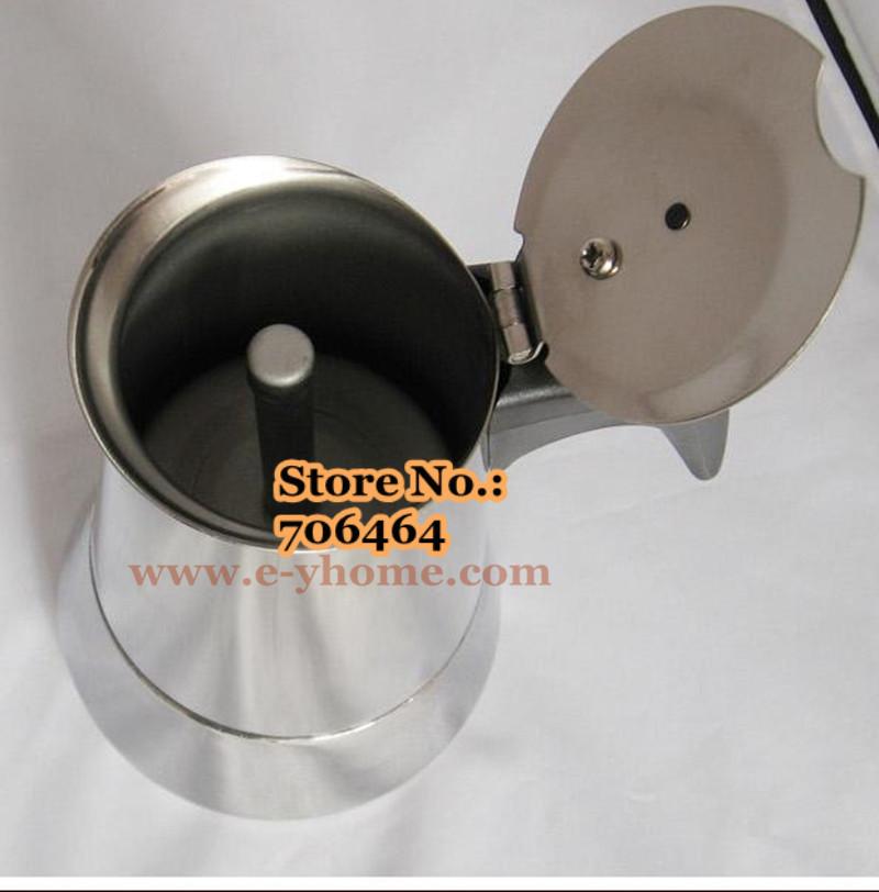 Moka Pot Crema Quot v Quot Yh102 4 Cups High Quality Moka Coffee Maker Moka Pot Espresso Coffee