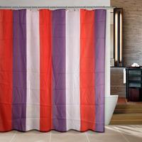 Lucky purple bathroom curtain shower curtain terylene bath curtain 180x180cm ,screen shower,curtain bath