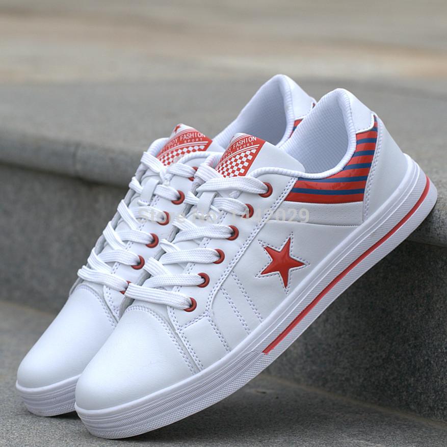 Мужчины в обувь спорт свободного покроя марка скейтбординг обувь мужчины кроссовки большие размер 39 - 44 KW2258 три цвета