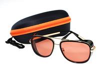Matsuda Iron man 3 Sport Sunglasses RAY TONY 2015 Mens Wayfarer Vintage Super Sunglasses Being Sale With Case Free Shipping