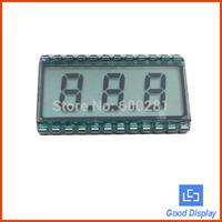 3 digits with dots 7 segment lcd tn lcd display 812