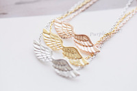 Wholesale Gold Silver Bling Trendy Lcarus Wing Bracelets Bangles Jewelry For Women,Free Shipping