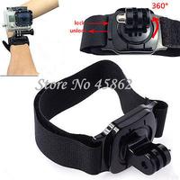 GoPro Accessories monopod 360 Degree Rotating Wrist Strap with Mount Wrist Straps For GoPro Hero 2 3 / 3+/4/ SJ 4000 SJ 5000