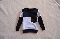 Retail 1pc Baby Clothing Boys Tee Kids Cotton Long Sleeve T-Shirt Clothes Spring Autumn New 2015 Fashion Children T Shirts TZ58