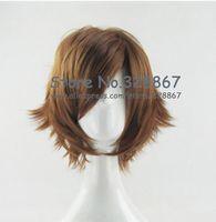 HitmanReborn Sawada Tsunayoshi and The Secret of Grave Robber Yuchen Jie Brown Cosplay Wig