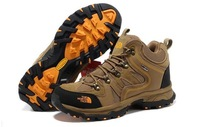 Designer Brand Genuine leather Men's Spring Summer Outdoor Shoes Sports Boots Hiking Shoes waterproof Size :40-44
