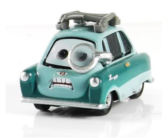 100% original --- Pixar Cars diecast figure TOY 1:55 scale -- Professor Z(China (Mainland))