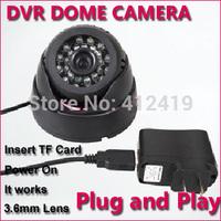Free Shipping 24pcs IR Leds Indoor TF Card Video Recorder Day and Night Vision USB TF Card Camera wholesales