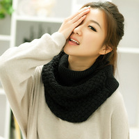 Yarn scarf muffler scarf women's winter pullover collars autumn and winter thickening scarf