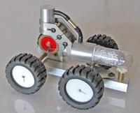 Car high temperature engine model engine