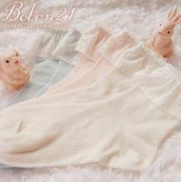 Princess sweet lolita BOBON21 new  polka dot lace socks  sweet  Three color options AC1103