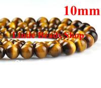 Free shipping! Wholesale 76pcs/lot 10mm Natural Yellow Tiger eye Hot sell Beads  fashion jewelry beads N0001