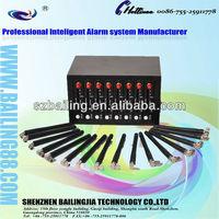 Best Quality Quad band 850/900/1800/1900MHZ send bulk SMS GSM GPRS TCP/IP  AT command 8 SIM CARD 8 port MC55I Module