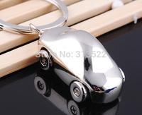 500 pcs dhl Free Shipping Fashion Alloy Mini Car Model Styling Keychain Cute Versatile Metal Key Ring Key Chain