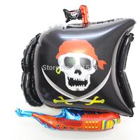 10pcs/lot Pirate ship balloons birthday party supplies baloons Bar decorative balloons