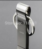 128GB  Metal Pendrive USB Flash Drive Pen Drive 128GBUSB 2.0 Flash drives Memory Stick With key Ring Free shipping