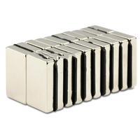 8*5*1 wholesale block 100pcs 8mm x 5mm x 1mm Blocks Neodymium Strong Fridge Magnets N35 Craft Models Magnetic magnet
