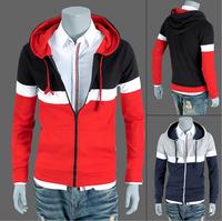 2014 Hot Men's Jacket Baseball Fashion Jackets Coat Male Outwear Jackets Free Shipping M,L,XL,XXL 1802