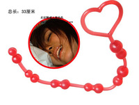Free shipping anal beads G point anal toy, waterproof sex product, sex products for woman