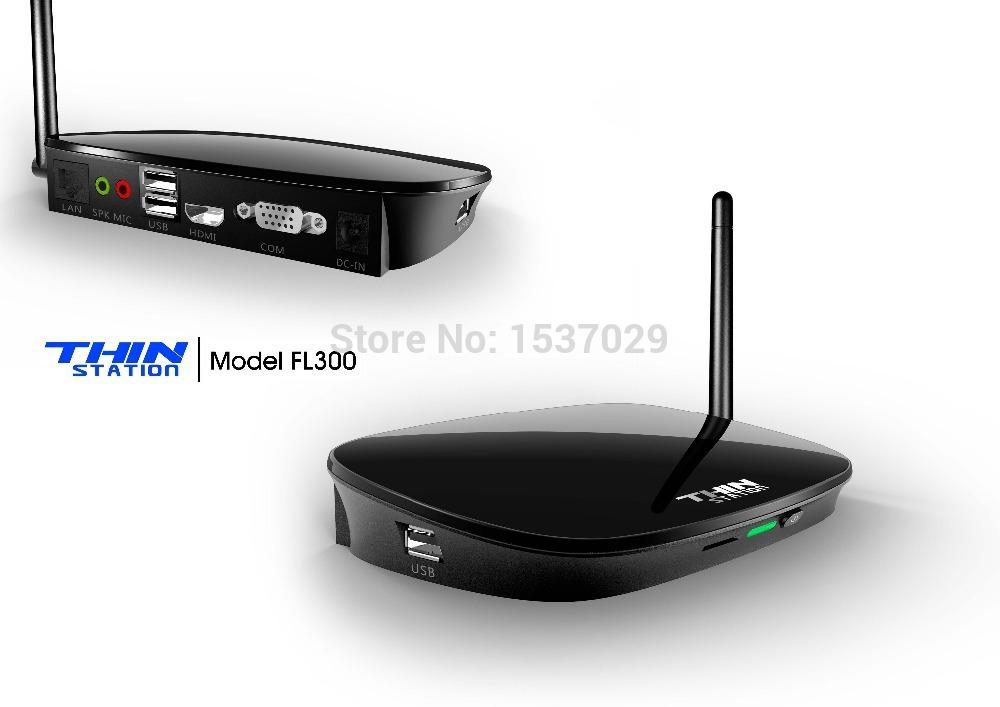 2015 free Shipping Via Dhl Mini Pc Thin Station Cloud Terminals Rj45 Ports Fl300 Full Hd1080p Rdp 7.1 Dual Core 512mb with Wifi(China (Mainland))