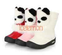 Fashion Cute plus Warm Shoes Children's Boots Winter Boy Girls Warm Winter Flat Snow Boots Free shipping