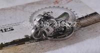 500pcs dhl Free Shipping Classic 3D Simulation Model Motorcycle Motorbike Keychain Key Chain Ring Keyring Keyfob