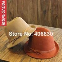 NEW coming winter wool felt fedora hats for women, chapeu feminino,  panama hat, free Shipping by China post