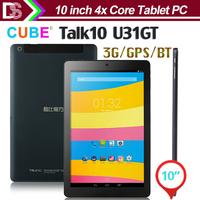 Cube U31GT TALK10  TABLET PC Quad Core MT8382 10.1 inch IPS Screen 1GB RAM 16GB ROM 3G GPS Bluetooth Camera 5.0MP AF