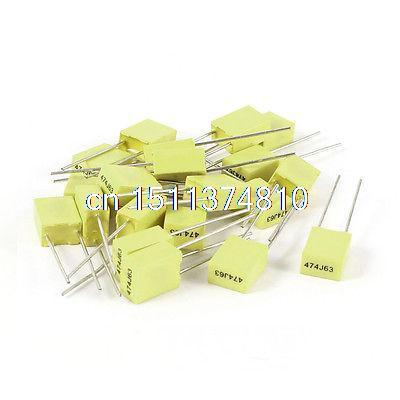Пассивные электронные компоненты 20 5 63V 0.47UF 470NF 5% электронные компоненты 2004 2004a 5 20 x 4