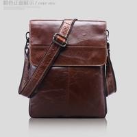 genuine leather messenger bags for men shoulder bag male crossbody bag tablet computer bag