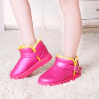 2014 winter kids boots boys girls shoes waterproof slip-resistant fashion kids winter children boots