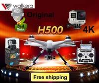 Walkera TALI H500 Drone RTF Hexacopter DEVO F12E transmitter G-3D Gimbal Hero 4 camera FPV GPS IOC Function b6 Free shipping