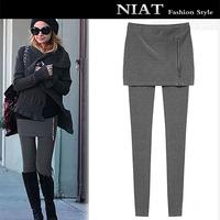 Fashion women's 2014 autumn and winter slim all-match hip slim plus velvet legging