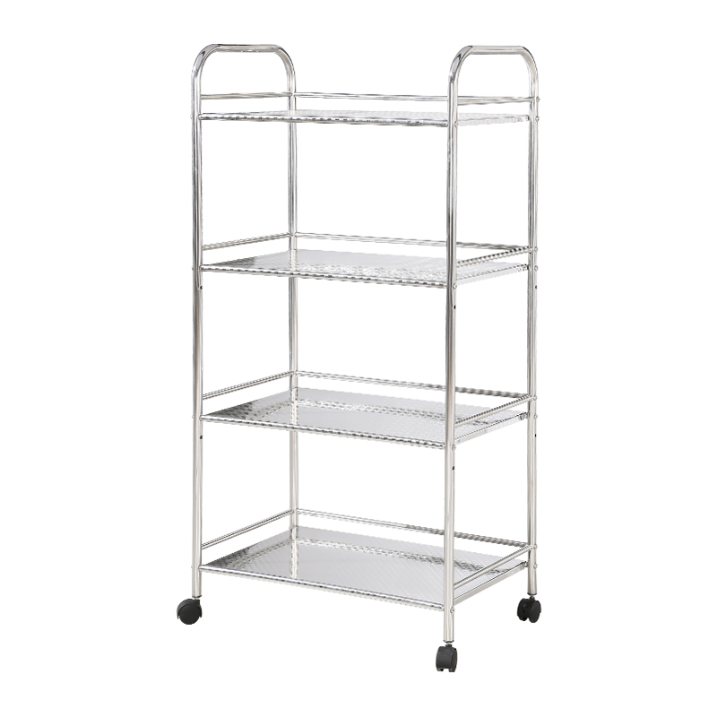 Stainless steel kitchen shelving racks kitchen microwave oven shelf storage consolidation shelves daily deals(China (Mainland))