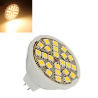 3 pcs/Lot _ MR16 5W Warm White 24 SMD 5050 Energy Saving LED Spot Light Bulb 12V